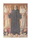 St. Benedict in Glory Giclee Print by Benvenuto Di Giovanni