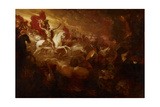 Destruction of the Beast and the False Prophet, 1804 Giclee Print by Benjamin West