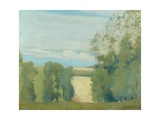 Landscape, 1894 Giclee Print by Charles Edward Conder