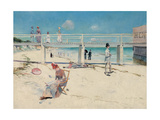 A Holiday at Mentone, 1888 Giclee Print by Charles Edward Conder