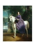 Empress Eugenie, 1857 Giclee Print by Charles Edouard Boutibonne