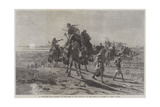 A Departure from Palmyra Giclee Print by Carl Haag