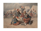 Zouaves in Camp, 1865 Giclee Print by Carl Goebel
