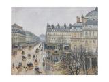 Place Du Théâtre Français, Paris: Rain, 1898 Reproduction procédé giclée par Camille Pissarro
