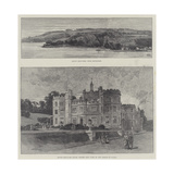 Mount Edgcumbe House Giclee Print by Charles Auguste Loye