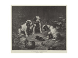 A Scientific Investigation Giclee Print by Carl Reichert