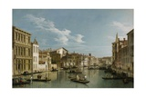 Grand Canal from Palazzo Flangini to Palazzo Bembo, C.1740 Giclee Print by  Canaletto