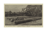 The Twenty-Fourth Regiment at Isandlana Giclee Print by Charles Edwin Fripp