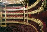 Stalls of Palais Garnier Giclee Print by Charles Garnier
