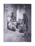 Jefferson Listening to the 'Treason Speech' Giclee Print by Charles Mills Sheldon