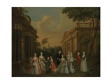 The Finch Family, C.1732 Giclee Print by Charles Philips