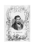Théophile Marion Dumersan, 1847 Giclee Print by Charles Michel Geoffroy