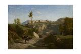 Landscape Near Crémieu Giclee Print by Charles Francois Daubigny