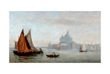 Church of Santa Maria Della Salute, Venice, 1875 Giclee Print by Charles Edward Holloway