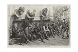 Schools of the Royal Academy Giclee-trykk av Charles Paul Renouard