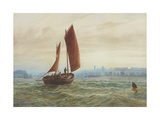 Off North Shields Giclee Print by Charles Napier Hemy