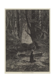The Fairy Glen Giclee Print by Charles Auguste Loye