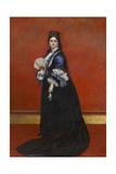 Madam De Rute, Born Marie Laetitia Bonaparte-Wyse, 1872 Giclee Print by Charles Emile Auguste Carolus-Duran