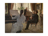 The Quartet Giclee Print by Charles Mertens