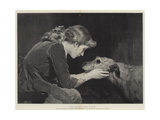 Faithful and True Giclee Print by Charles Burton Barber