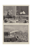 The Naval Manoeuvres Giclee Print by Charles Edward Dixon