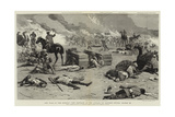 The War in the Soudan, the Repulse of the Attack on Baker's Zeriba, 22 March Giclee Print by Charles Edwin Fripp