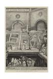 The Royal Academy, the Hurly Burly Giclee-trykk av Charles Paul Renouard