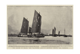 The Allies in China, the Transport Service Between Peking and Tientsin Giclee Print by Charles Edward Dixon