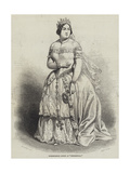 Mademoiselle Alboni as Cenerentola Giclee Print by Charles Baugniet