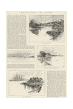 Sketches in Siam Giclee Print by Charles Auguste Loye