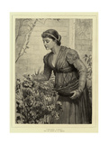 Tender Cares Giclee Print by Charles Edward Perugini