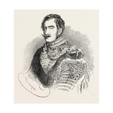 The Duke of Saxe-Coburg and Gotha Giclee Print by Charles Baugniet