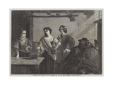 Florizel and Pee Dita Giclee Print by Charles Robert Leslie