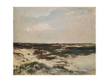 The Dunes at Camiers, 1871 Giclee Print by Charles Francois Daubigny