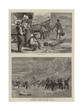 Sketches from South Africa Giclee Print by Charles Edwin Fripp