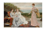 The Ramparts Giclee Print by Charles Edward Perugini