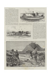 The Matabili War Giclee Print by Charles Auguste Loye