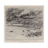 To Klondyke and Back, an Old Russian Village in Alaska Giclee Print by Charles Edwin Fripp