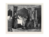 Benevolence, at the French Exhibition Giclee Print by Charles Baugniet