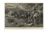 A Boer Raid Giclee Print by Charles Edwin Fripp