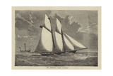 Mr Ashbury's Yacht Livonia Giclee Print by Charles Ricketts