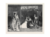 Good Luck, in the International Exhibition 1871 Giclee Print by Charles Baugniet