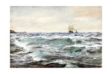Rough Water on the Bar Giclee Print by Charles Napier Hemy