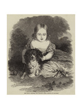 Her Royal Highness the Princess Alice Giclee Print by Charles Baugniet