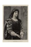 Silvia Giclee Print by Charles Edward Perugini