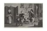 Le Bourgeois Gentilhomme Giclee Print by Charles Robert Leslie