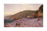 Among the Shingle at Clovelly, 1864 Giclee Print by Charles Napier Hemy