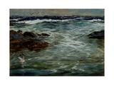 Sea Study at Portscatho, Cornwall, 1901 Giclee Print by Charles Napier Hemy