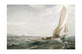 Through Sea and Air, 1910 Giclee Print by Charles Napier Hemy