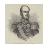 His Majesty the King of Holland Giclee Print by Charles Baugniet